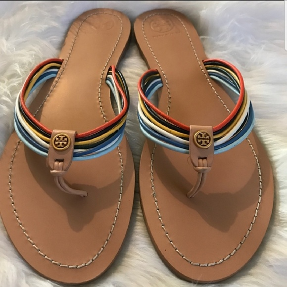 9626342e28c2 New Tory Burch Sienna Strappy Sandals!! M 5b573ef0619745064af5e874